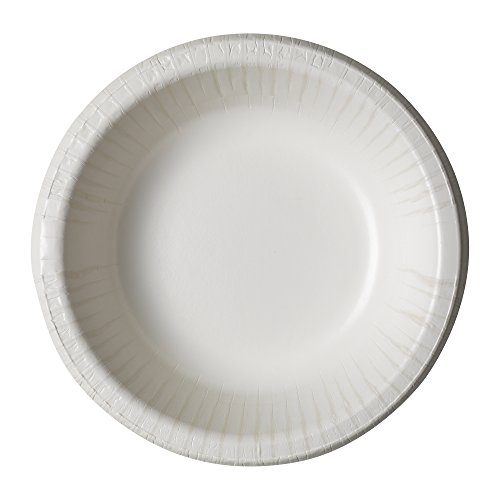 - Dixie Ultra SXB12W Heavy Weight Paper Bowl, 12 oz Capacity, White (8 Packs of 125)