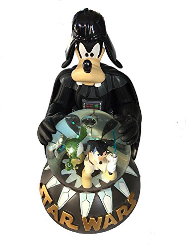 Collectible Snowglobe - Disney Parks Goofy as Darth Vader Light Up Snowglobe