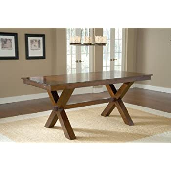 Exceptional Counter Height Trestle Table