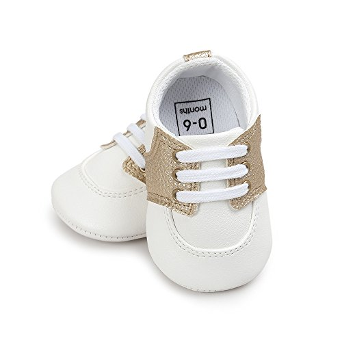 Schuhe Gold Schuhe Casual Sneakers Sohle Hunpta weiche Baby tqTR7R