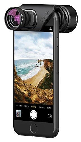 olloclip — VISTA LENS SET for iPhone 8/8 Plus & iPhone 7/7 Plus — TELEPHOTO & SUPER-WIDE Premium Glass Lenses by olloclip