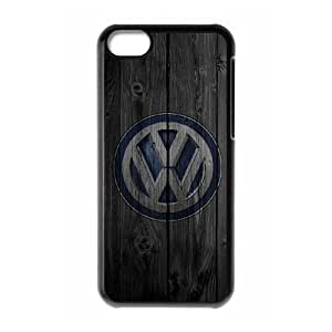 Volkswagen Car Logo For Cell Phone Case iPhone 5c Black Case Cover W13W7040172