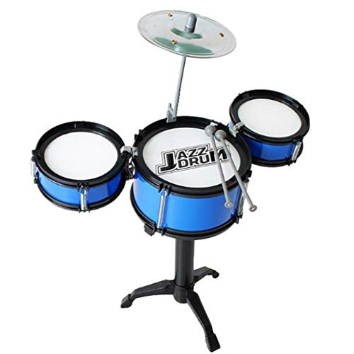 dalina Kids Mini Three Drum Set Children Percussion Musical Instrument Educational Toys for Toddlers 2-4 Years