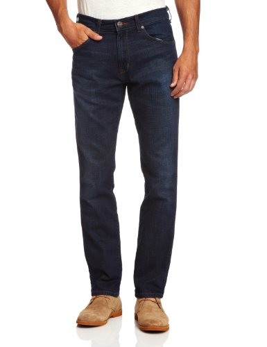 Wrangler Blu Jeans 34l 35w Camino Uomo Leg Greensboro 43c el Straight XZr1qX6