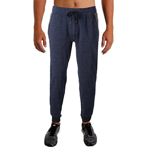 2(X)IST 2xist Mens French Terry Jogger Sweatpants Blue M