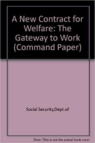 Ebook nederlands gratis download A New Contract for Welfare: The Gateway to Work (Command Paper) (French Edition) CHM 0101410220