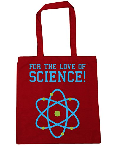 Red 42cm For x38cm Tote the litres science of Beach HippoWarehouse 10 love Classic Shopping Bag Gym vZdPWU