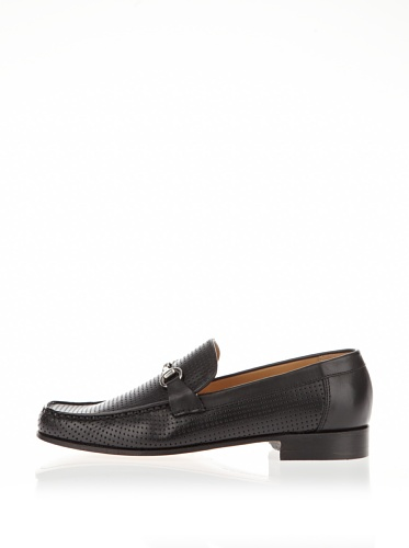 BARKER Men's Loafer Flats Black BLACK 45