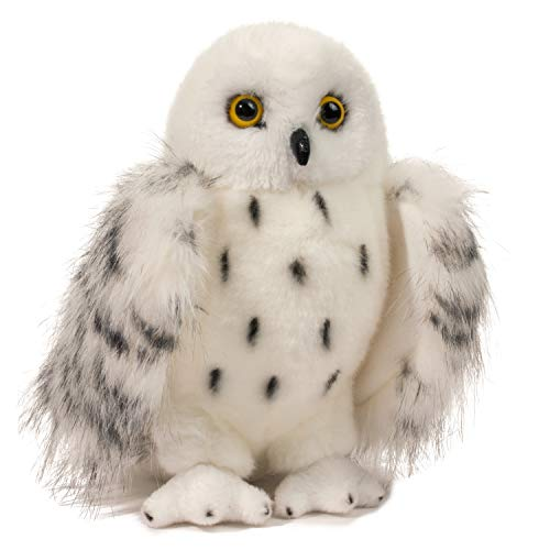 Douglas Wizard Snowy Owl Plush Stuffed Animal]()