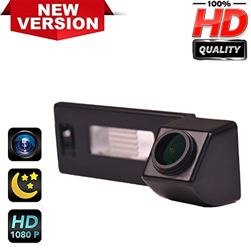 Rear Reversing Backup Camera Rearview License Plate Replacement Camera Night Vision Ip69k Waterproof for Audi A1 A4 B8 A5 5D S5 TT Roadster Q5 RS Coupe Cabriolet/Skoda Superb Skoda Yeti 2013