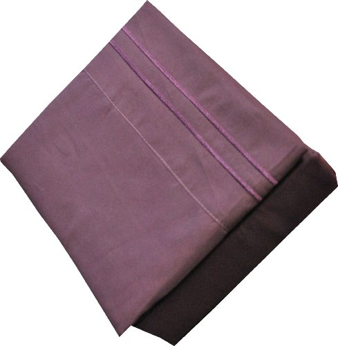 Fashion Street 4-Piece Embroidered Full Sheet Set, Purple from Fashion Street