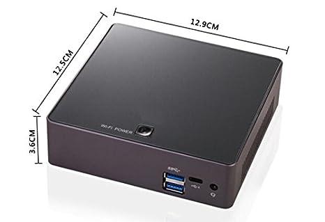 Kingdel A1 Poderoso Mini Computadora de Escritorio, 4K Mini PC, Intel i7 8ª generación CPU, 16GB DDR4 RAM, 256GB SSD, HDMI, 3165 A/C WiFi+Bluetooth 4.2, ...