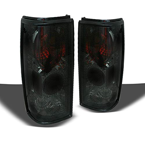 Xtune Smoked S10 Jimmy Sonoma Tail Lights Lamps Rear Smoke Brake Pair Left+Right