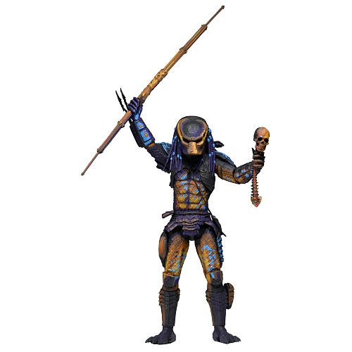 Predator 2 7 Inch Scale Action Figure City Hunter (Video Game Appearance)
