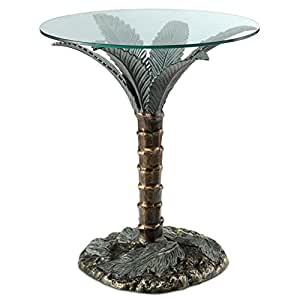 SPI Home 33919 Palm Tree End Table