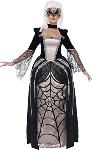 Black Widow Baroness Costume Black Uk Dress (Baroness Costume)