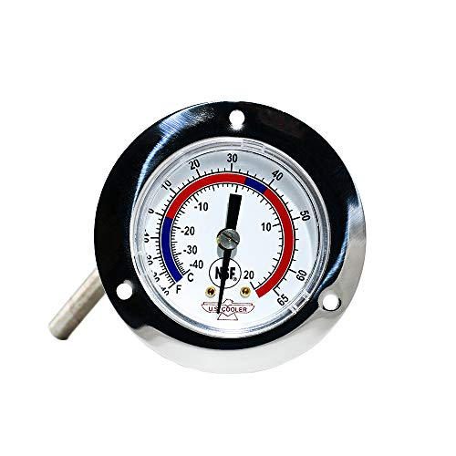THERMOMETER - Dial - Panel Mount (Walking Freezer And Coolers)