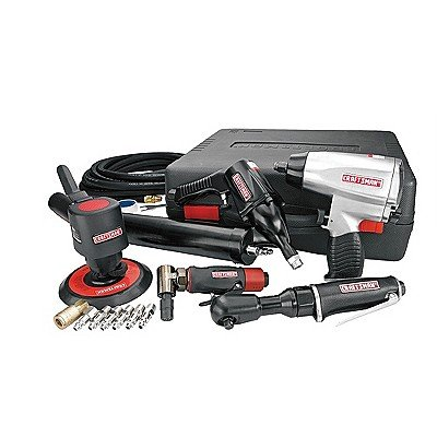 Craftsman 14pc. Mechanics Air Tool Kit 16854 (Campbell Dual Sander)
