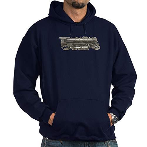 CafePress Vintage Train Toys Pullover Hoodie, Classic & Comfortable Hooded Sweatshirt Navy
