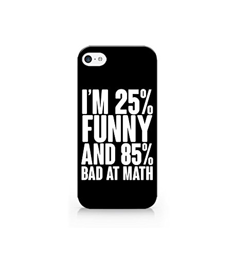 Amazoncom Case For Iphone 55s5se Cover All Sides Im Funny