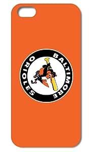Tomhousmick-Custom DIY the Baltimore Orioles iPhone 6 4.7 design Case Hard Silicone Case