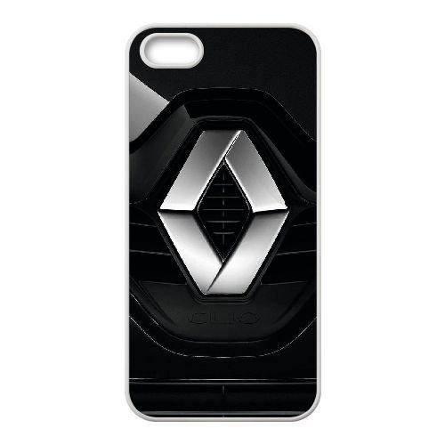 T6B76 Renault logo H1I1BD coque iPhone 5 5s cellulaire cas de téléphone couvercle coque blanche DE2OEJ5RF