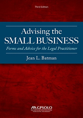 Pdf Law Advising the Small Business