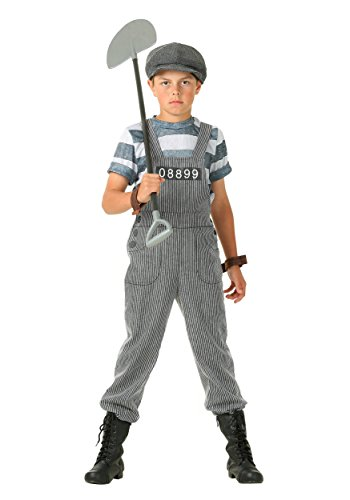 Chain Gang Costumes (Boy's Chain Gang Prisoner Costume Small (6))