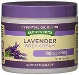 Nature's Truth Lavender Body Cream, 4 Ounce
