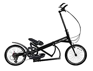 ElliptiGO Arc 24 - The World's First Outdoor Elliptical Bike (Black)