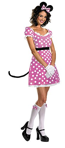 Minnie Mouse Sassy Costumes (Girls - Minnie Mouse Sassy Pink 4-6 Halloween Costume - Child 4-6)