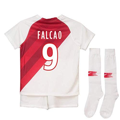 2018-19 Monaco Home Football Soccer T-Shirt Jersey (Radamel Falcao 9)