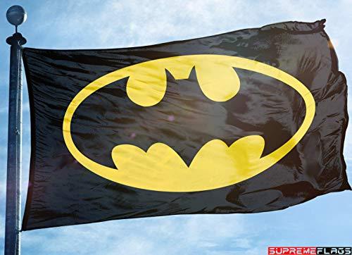 Batman Flag Banner 3x5 ft Dark Knight Garage Decor DC Comics
