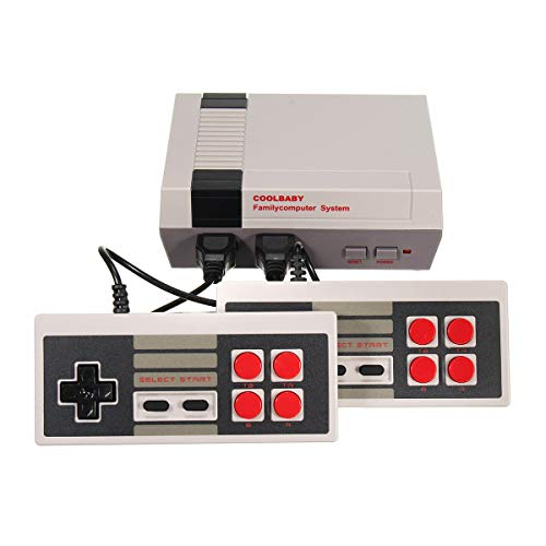 Price comparison product image Classic Games Console - Classic Gaming Console - 500 in 1 Dual Player Video Games Console (Classic Video Game Console)