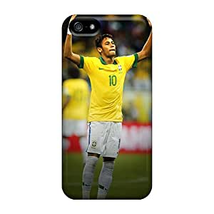 Fashion Protective Brazil Neymar Case Cover For Iphone 5/5s