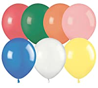 "Ideal 18"" Standard Assortment Latex Balloons (72 count)"