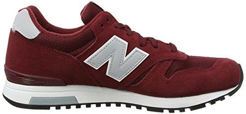 Balance Red Running M565 New rosso Men grigio Classic OdgFq