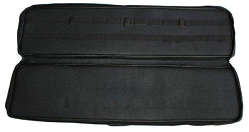 Leader Tactical Futteral schwarz Gewehrtasche 120x28cm mit Außentaschen