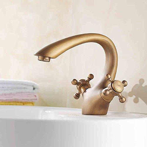 19 Hlluya Professional Sink Mixer Tap Kitchen Faucet Antique Basin Faucet 29