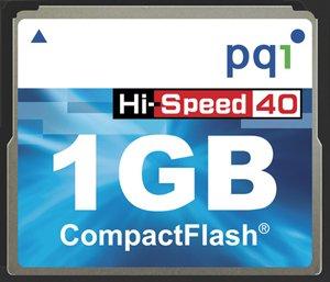 1 GB CF CARD HI-SPEED 40