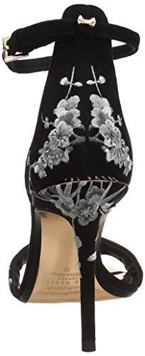 Caviglia Scarpe Donna Con Nikoal black Baker Cinturino Alla Nero Blk Ted pqEY0x0