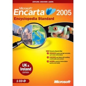 Microsoft Encarta 2005 Standard - UK & Ireland Edition