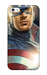High-end Case Cover Protector For Iphone 5/5s(captain America The First Avenger )