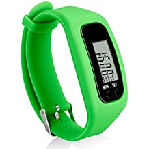 Fitness Tracker Watch, Simply Operation Walking Running Pedometer with calorie burning and steps counting by Bomxy