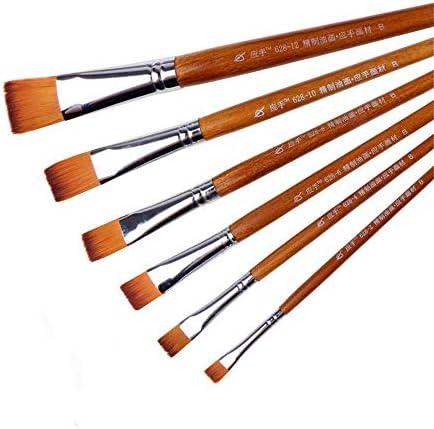 化粧筆 ナイロンウール水彩ブラシセットは、アクリル絵画絵画水彩オイルに適しグッド吸水性および弾性を有します 化粧ブラシセット (