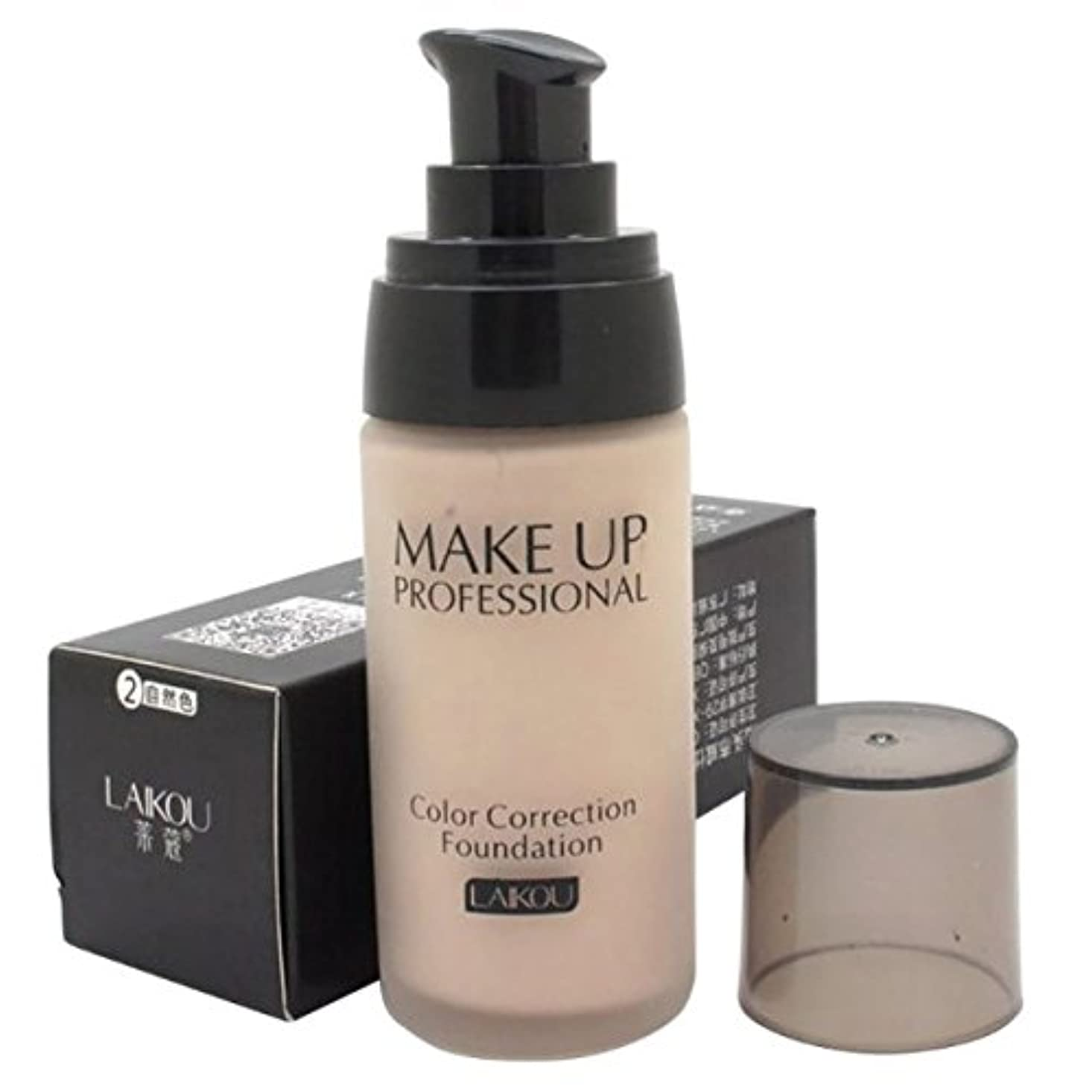 キラウエア山経済幸福40 ml Whitening Liquid Foundation Concealer Moisturizer Oil-control Waterproof Makeup NO.2