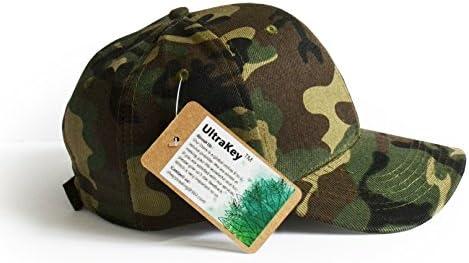 UltraKey Gorras de béisbol, Gorras de Camuflaje Militar del ejército, Gorras, se Pueden Utilizar para Actividades al Aire Libre como la Pesca, el Campamento y la Caza: Amazon.es: Deportes y aire libre