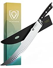 """DALSTRONG Butcher's Breaking Cimitar Knife - 14"""" (35,5 cm) Extra-Long Blade - """"The Reaper"""" - Gladiator Series - German HC Steel - w/Sheath - NSF Certified"""