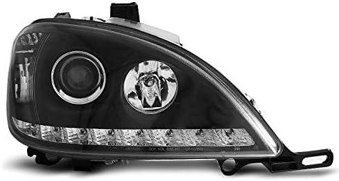 E85 Shop Import Paire de Feux phares ML W163 01-05 Daylight LED Noir