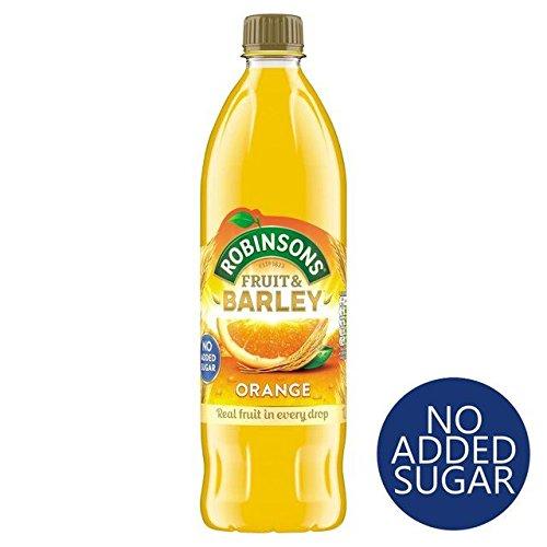 Juice Orange Concentrate - Robinsons Orange Fruit & Barley No Added Sugar - 1L (33.81fl oz)
